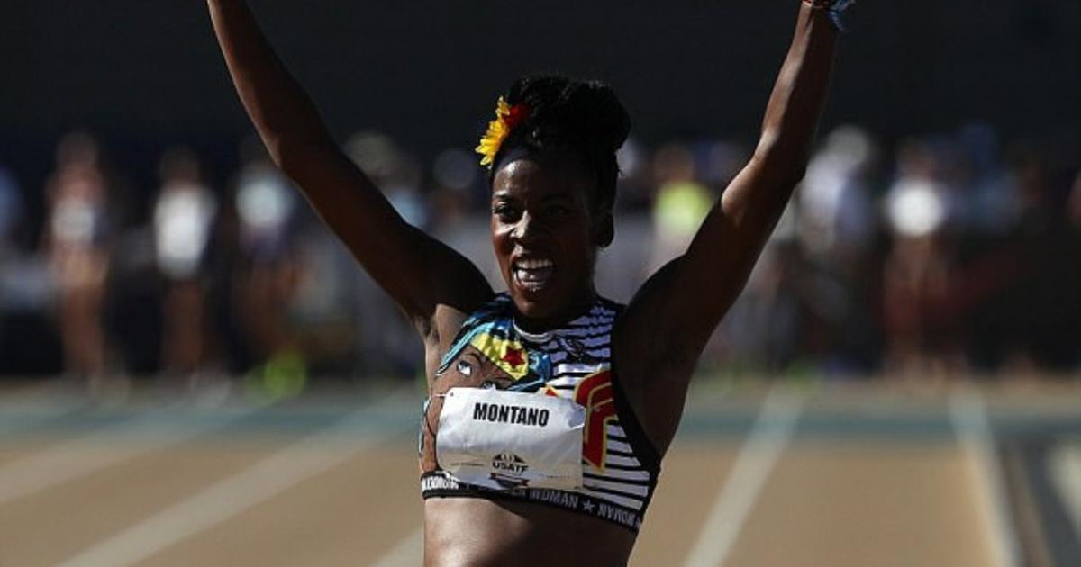 Alysia Montano Runs in 800m Race Field Championships...