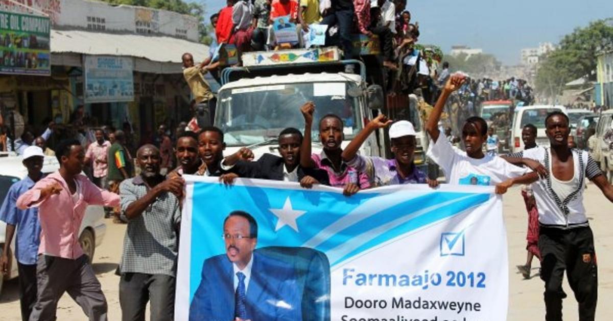 Somalia President Mohamed Abdullahi Mohamed gets sup...