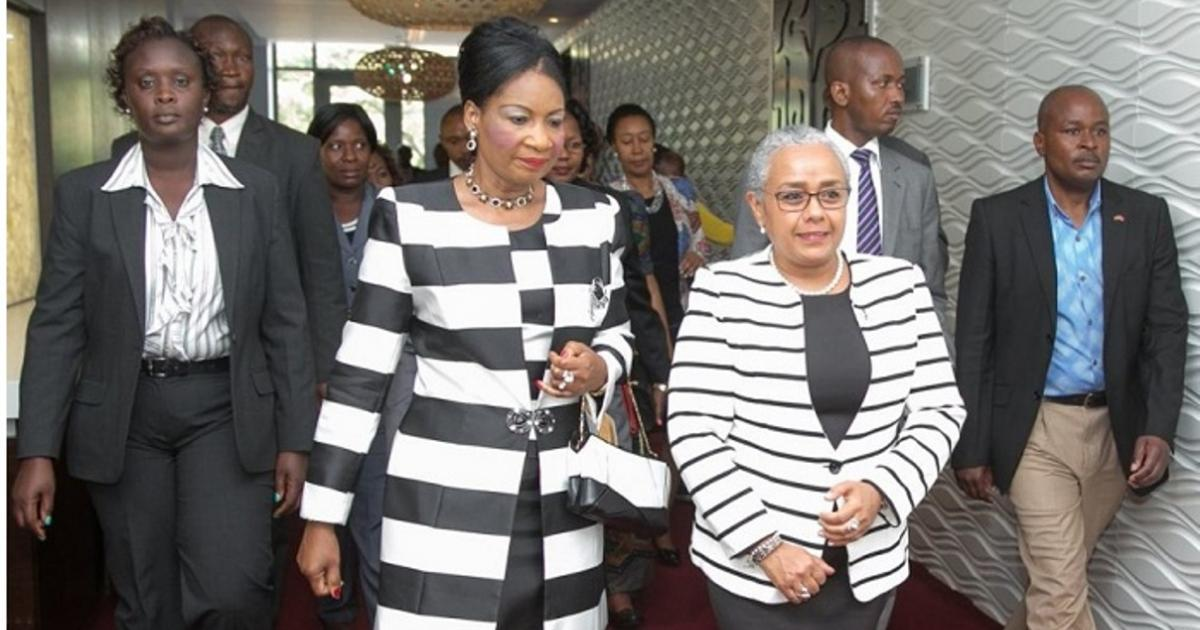 African first ladies urge African governments to give youth opportunities to participate in national building