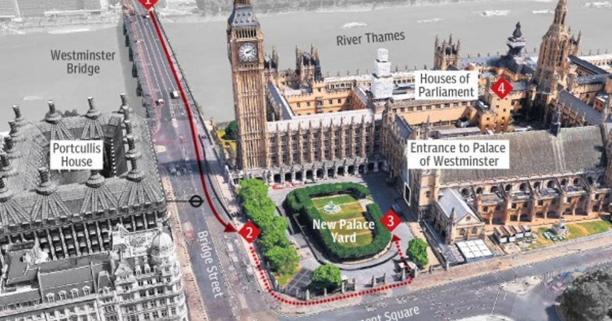Westminster attacker named as Briton Khalid Masood