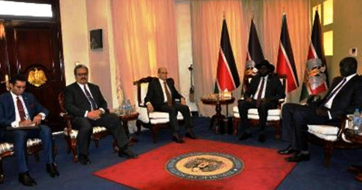 S. Sudan, Egypt agree to strengthen bi-lateral relations