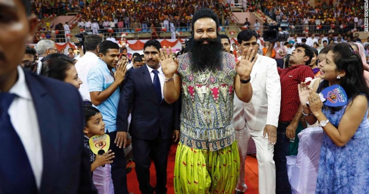 Indian guru Gurmeet Ram Rahim Singh sentenced to 20 years for rape