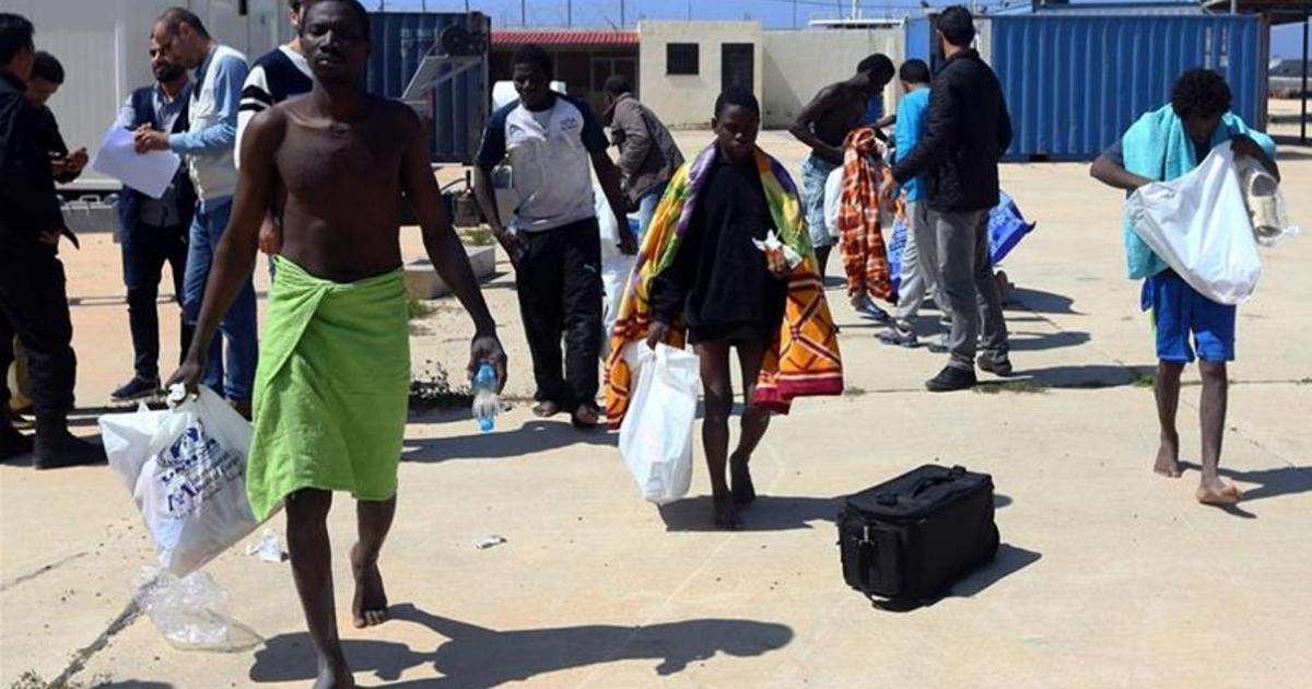 97 missing after asylum seeker boat sinks off Libya