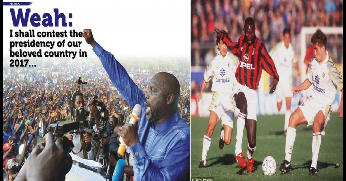 Liberia election: Ex-football star George Weah takes...