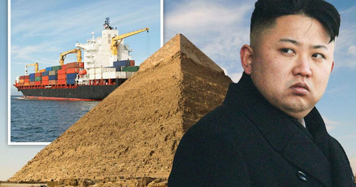 North Korean ship was seized off Egypt with weapons for Egypt: Report