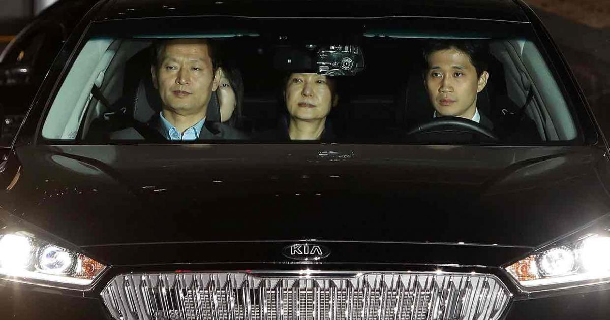 Ousted South Korea president Park Geun-hye jailed over corruption allegations