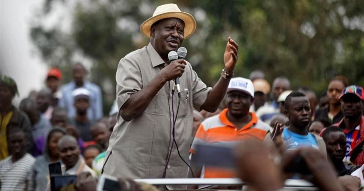 Kenyan opposition leader rejects new presidential poll, demands 'guarantees' against fraud