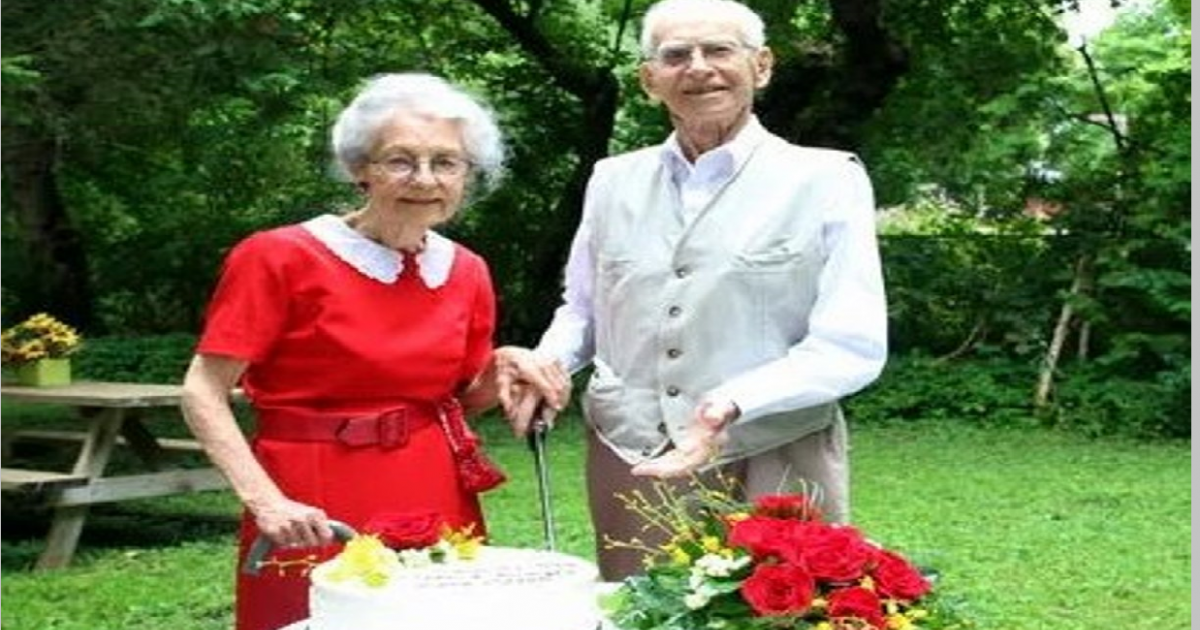 After 75 Years Of Marriage, War Bride And WWII Veter...