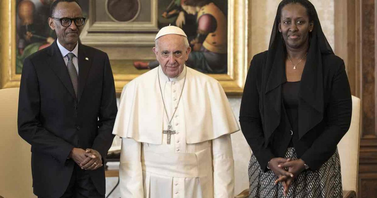 Pope Francis asks for forgiveness for church's role in Rwanda genocide