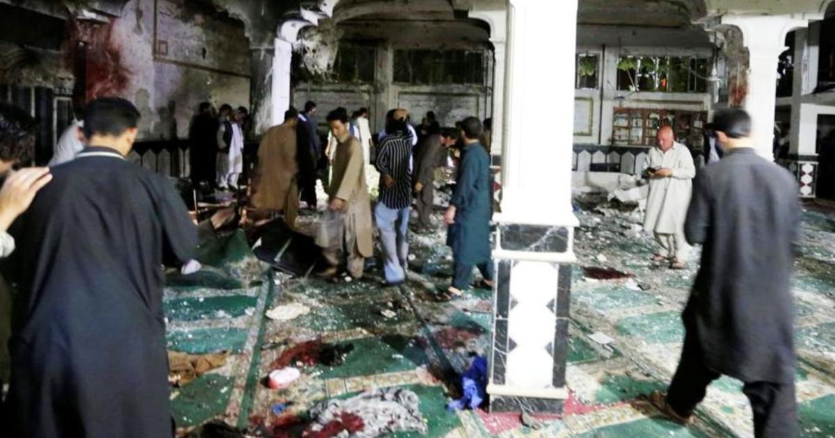 Dozens killed in suicide attack on Shiite mosque in Afghanistan