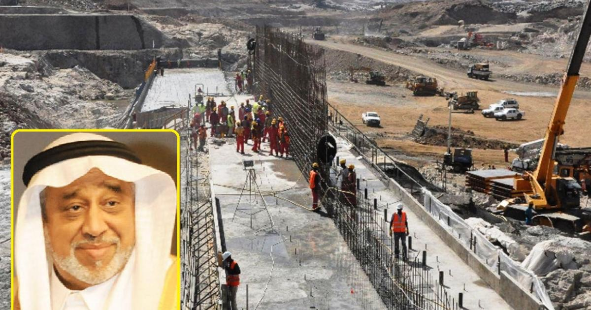 Saudi Arabia arrests main investor in Ethiopia's dam