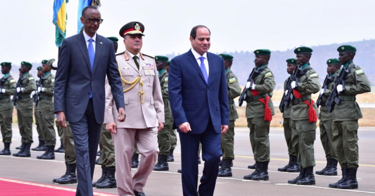 Egypt President Fatah al-Sisi in Rwanda For Bilateral Talks