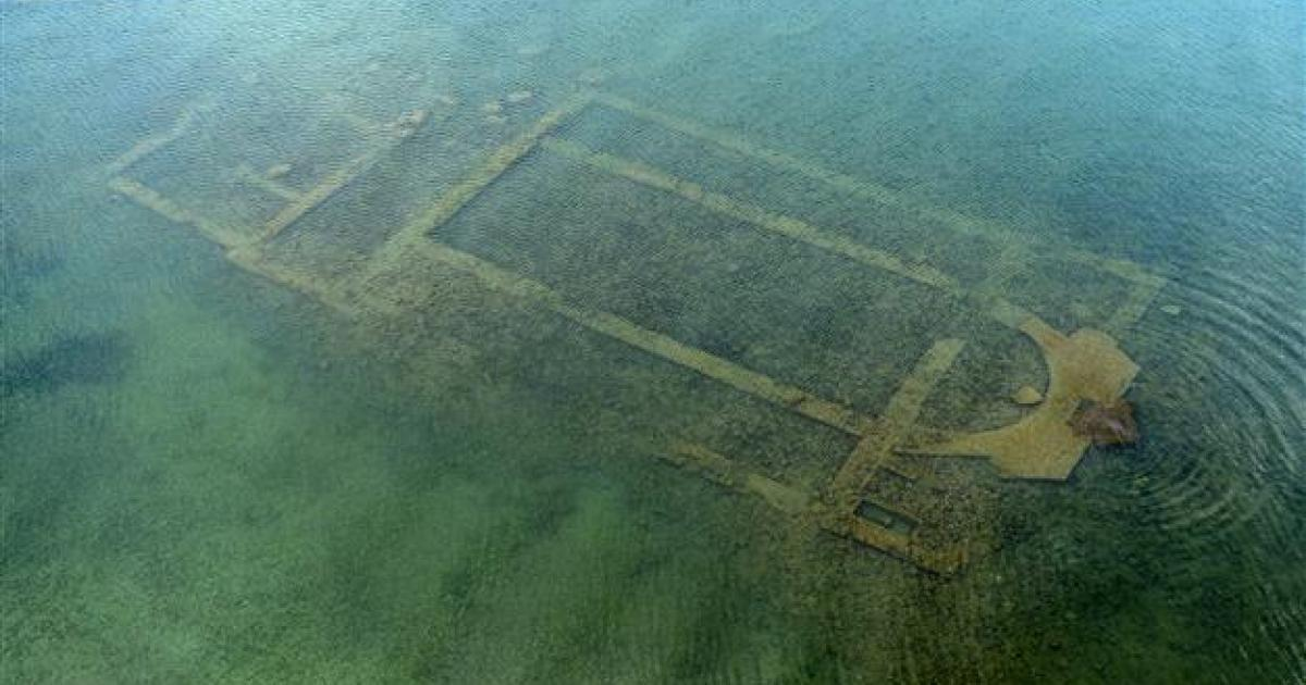 Remains of Byzantine basilica discovered at the bott...