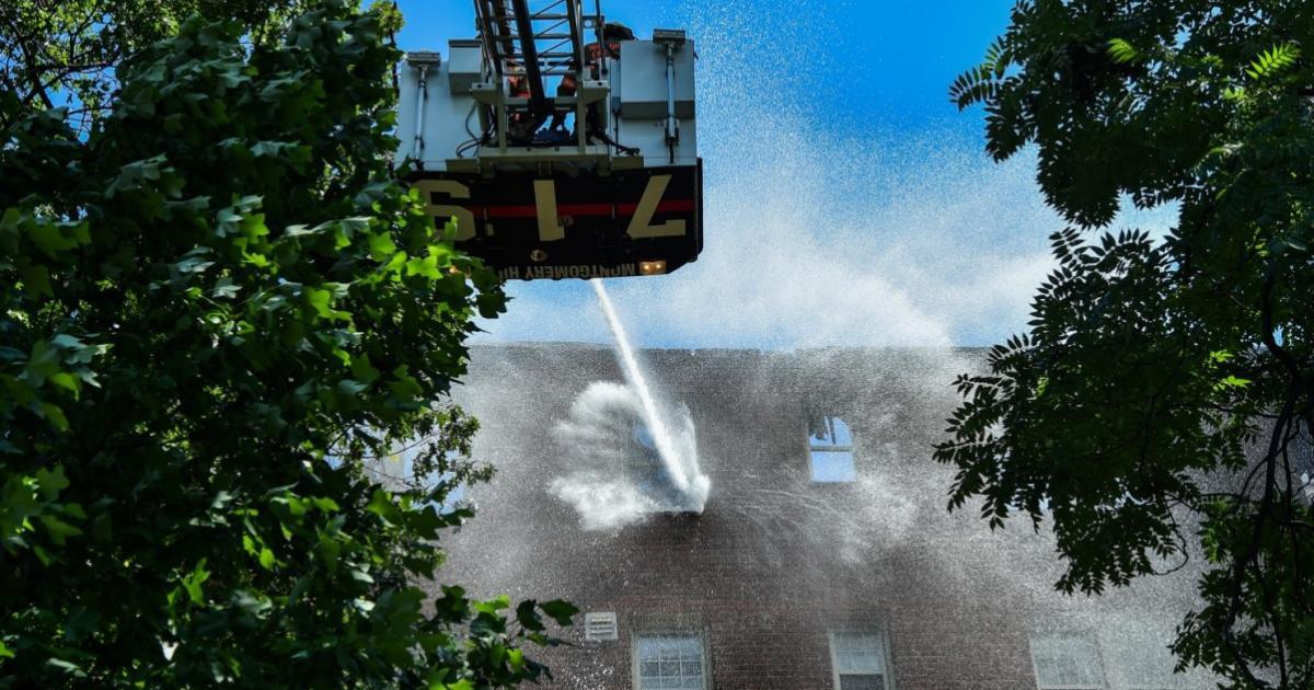 Massive Blaze Ravages Apartment Building in DC Where Ethiopians Reside