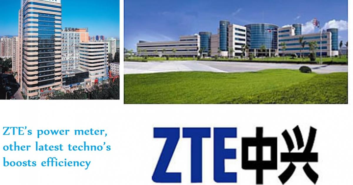 ZTE's power meter, other latest techno's boosts ...