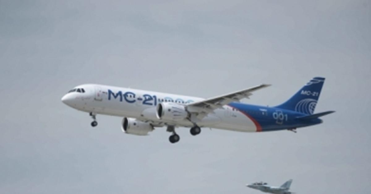 Russian MC-21 Airliner Makes First Flight
