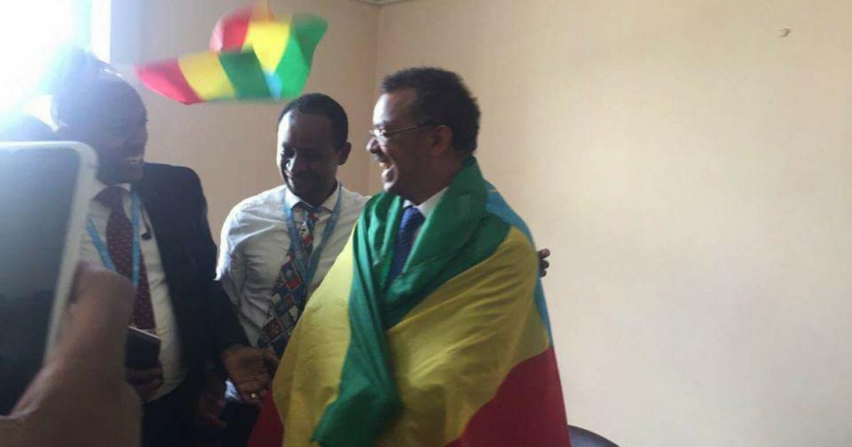 Dr. Tedros Adhanom of Ethiopia is elected as next Di...