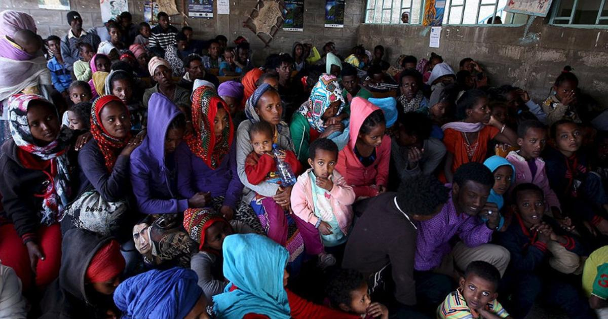 Instead of a wall, an open door: Why Ethiopia welcomes an enemy's refugees