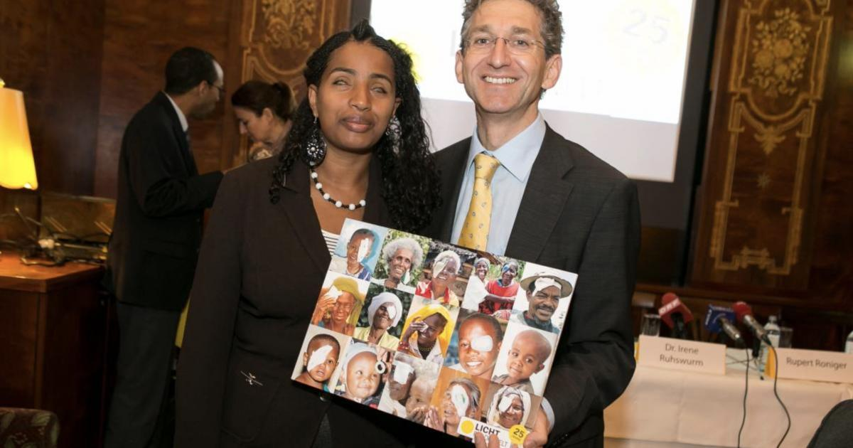Blind female Ethiopian rights lawyer shares 'alternative Nobel Prize'