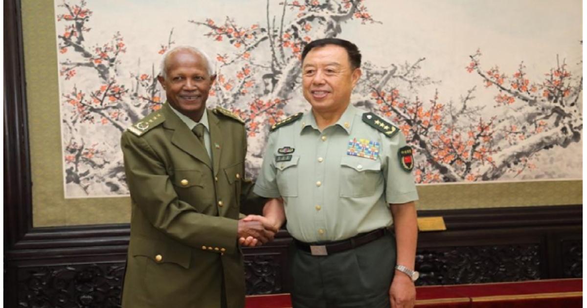 China, Ethiopia vow to promote military ties