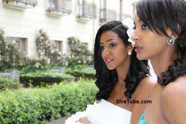 Teddy Afro Wedding Lunch Ceremony Sheraton Addis DireTube - Ethiopian brides hairstyle