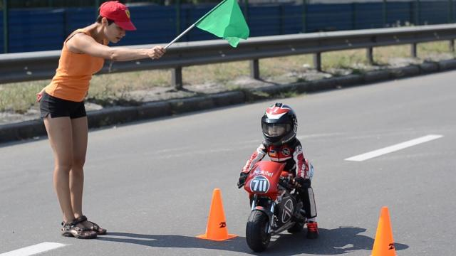 Baby Biker: 4-Year-Old Has Insane Motorcycle Skills