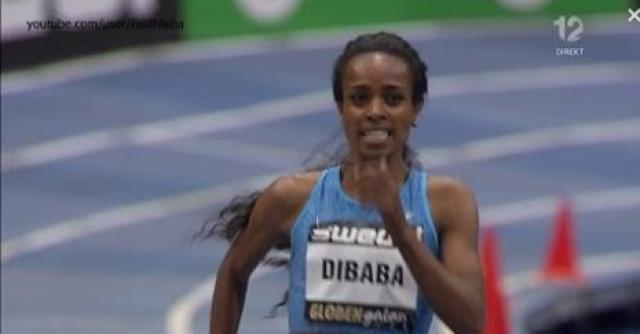 Genzebe Dibaba 4:13.31 - Smashes Indoor Mile WORLD RECORD 2016