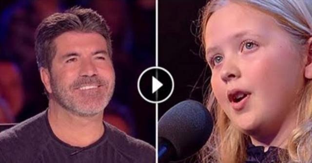 A Young Shy Girl Walks On Stage, but within Seconds Everyone's Jaw Hit The Floor