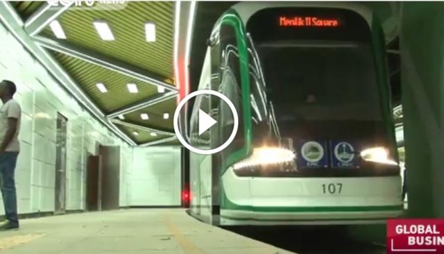 New rail service in Addis Ababa improving public transport