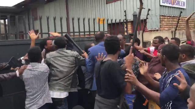 See What is happening in South Africa - Xenophobia Protestors Attack on innocents