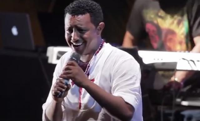 Ethiopia -Teddy Afro concert at Ghion Hotel