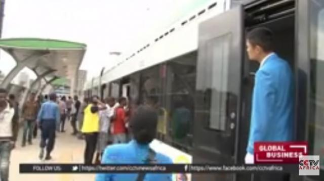 Ethiopia's light train moves around 15,000 passengers in an hour