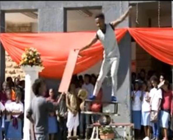 ETHIOPIA | Amazing circus act in Mekelle city