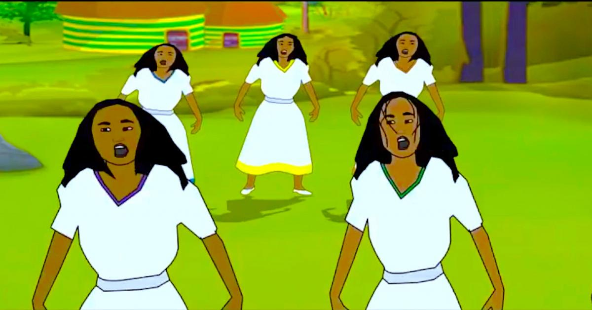 Teddy Afro Mar Eske Tuwaf - WOW! Animation!