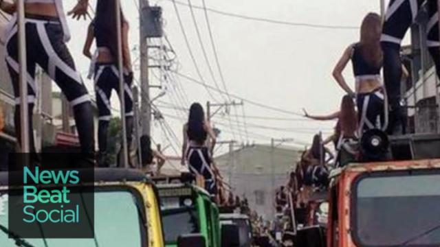 WATCH: Taiwanese Funeral Features 50 Pole Dancers