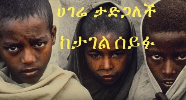 ETHIOPIA -Tagel Seifu  ሀገሬ ታድጋለች Best Poem