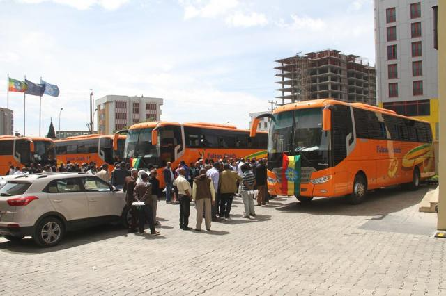 Ethiopia: Modern Falcon Coach public buses to start service in Ethiopia