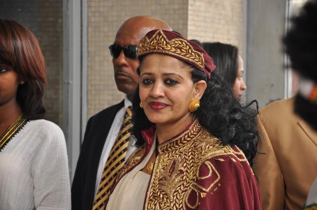 ETHIOPIA -The famous dancer Eniye Takele returns to Ethiopia