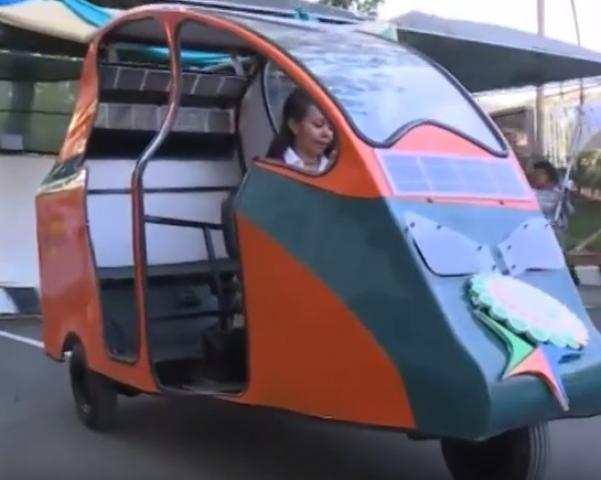 Solar Powered Car in Ethiopia
