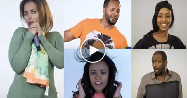Amazing Competition between best Ethiopian Movie Actors