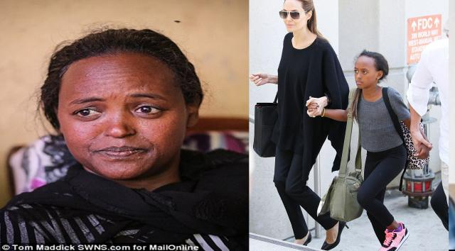 Angelina Jolie's adopted daughter's mum seeks access-