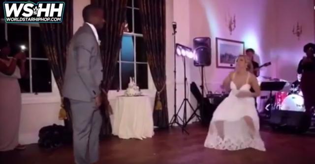 Nigerian Groom & American Bride Do An Amazing First Dance!