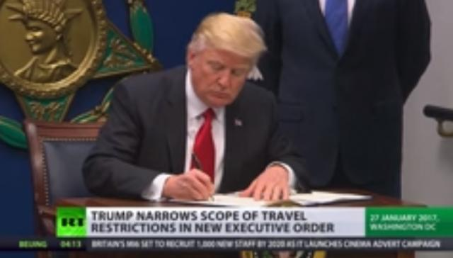 Trump issues new travel ban for 6 Muslim-majority countries, excludes Iraq