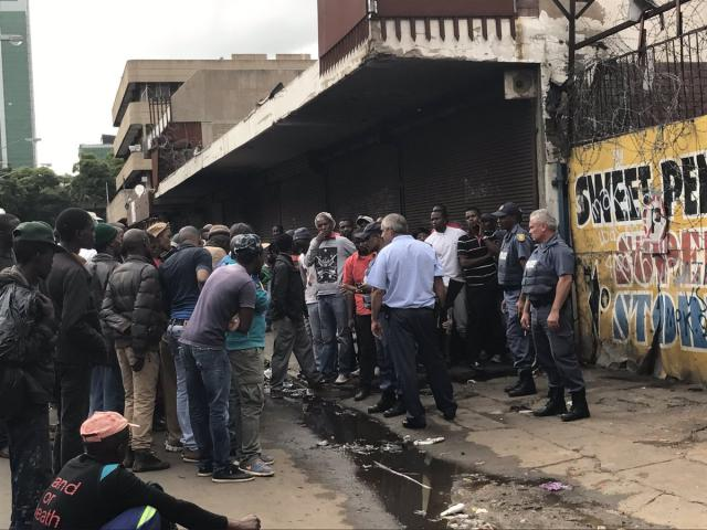Ethiopians' Property Destroyed/looted in South Africa during Protest