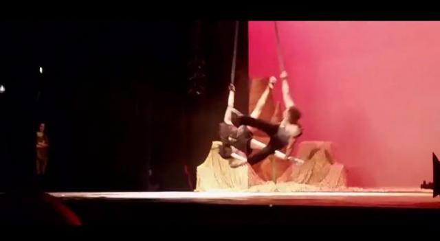 DEMENA: Amazing Gymnastic acrobat by Talented Ethiopians