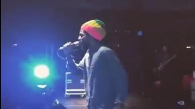 CHRONIXX Live In Addis Abbaba, Ethiopia June 19, 2016