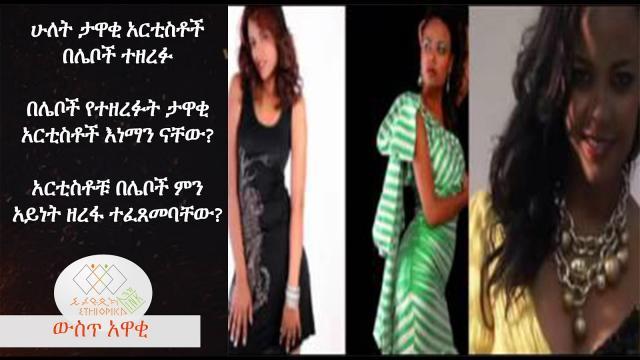 EthiopikaLink Explains How Artist Mekdes Tsegaye Robbery Happened - The insider News