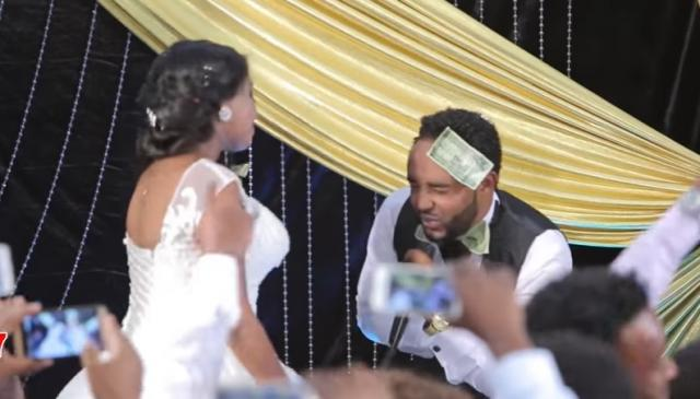 Ethiopian Groom sings to Bride