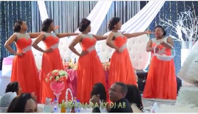 Ethiopian wedding Amazing bridesmaid dance