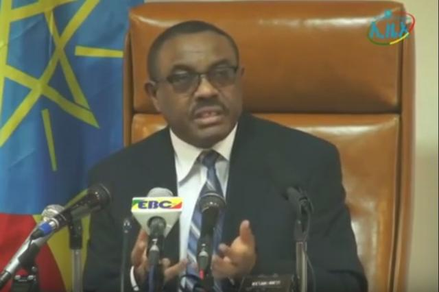 Ethiopian PM On Current Issues - Talks about Foreign Based Opposition Party influence